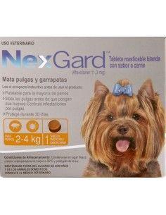 Nexgard Perros 2 a 4kg