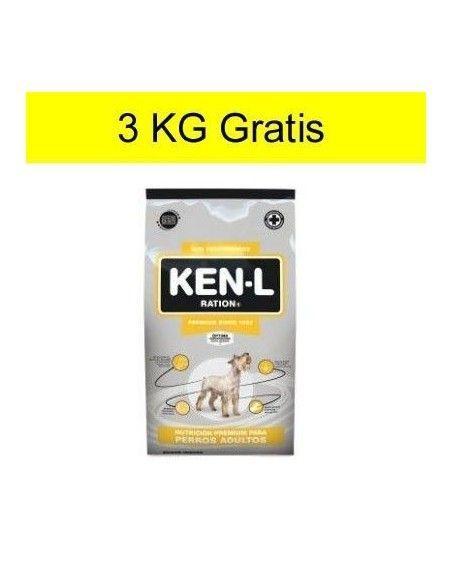 Ken-L Perro Adulto 22kg + 3kg gratis
