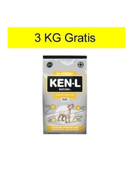 Ken-L Perro Adulto 15kg + 3kg Gratis