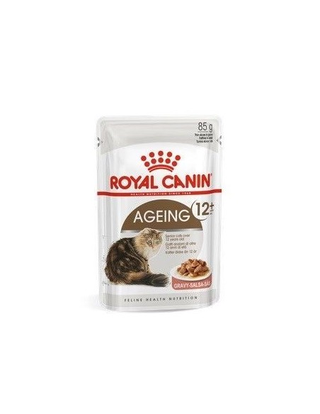 Royal Canin Ageing 12+ Pouch Caja x 12