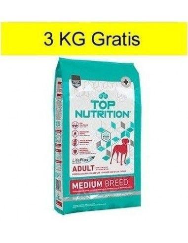 Top Nutrition Perro Mediano Adulto 15 + 3KG Gratis
