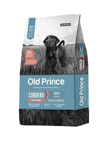 Old Prince Cordero y Arroz Cachorro Medium & Large  15Kg