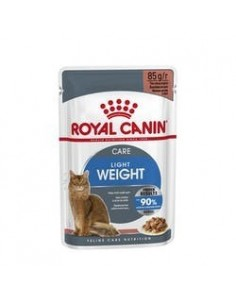 Royal Canin Light Weight Care Pouch Caja x 12