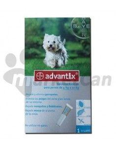 Pipeta Advantix Perros de 4 a 10kg