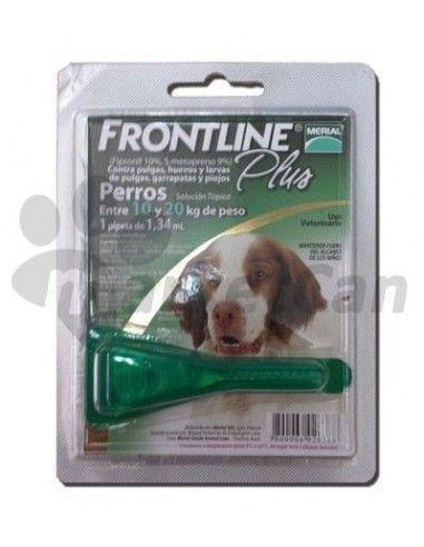 Pipeta Frontline Plus Perros de 10 a 20kg