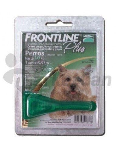 Pipeta Frontline Plus Perros Hasta 10kg