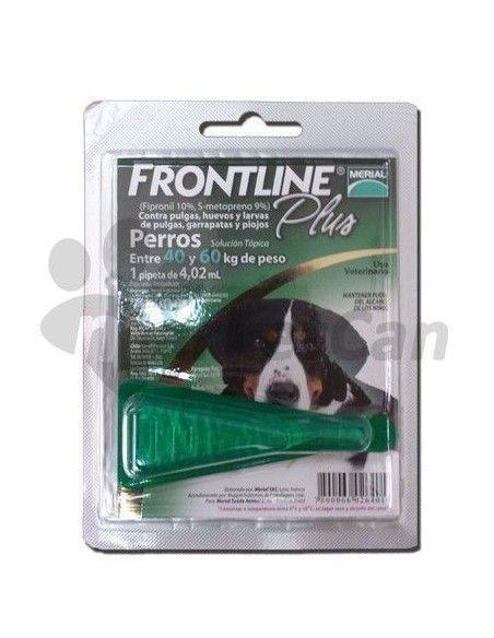 Pipeta Frontline Plus Perros de 40 a 60kg