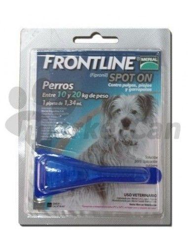 Pipeta Frontline Spot On Perros de 10 a 20kg