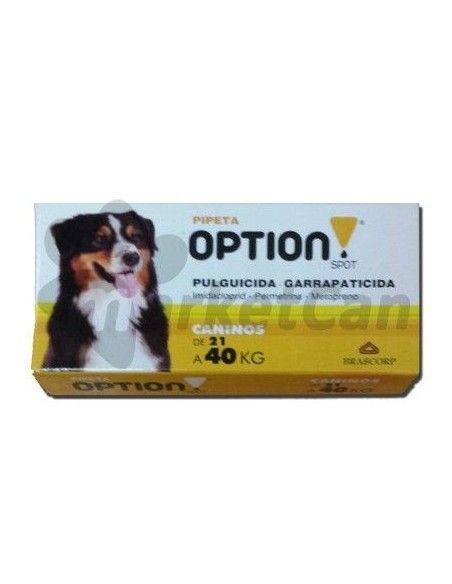 Pipeta Option Spot Perros de 21 a 40kg
