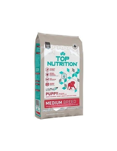Top Nutrition Perro Mediano Cachorro 15+3KG